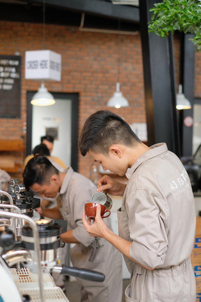 43 Factory/峴港/越南/美食/第三波咖啡/手沖精品咖啡/咖啡師