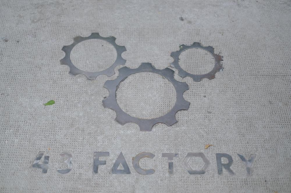 43 Factory/峴港/越南/美食/第三波咖啡/手沖精品咖啡/logo