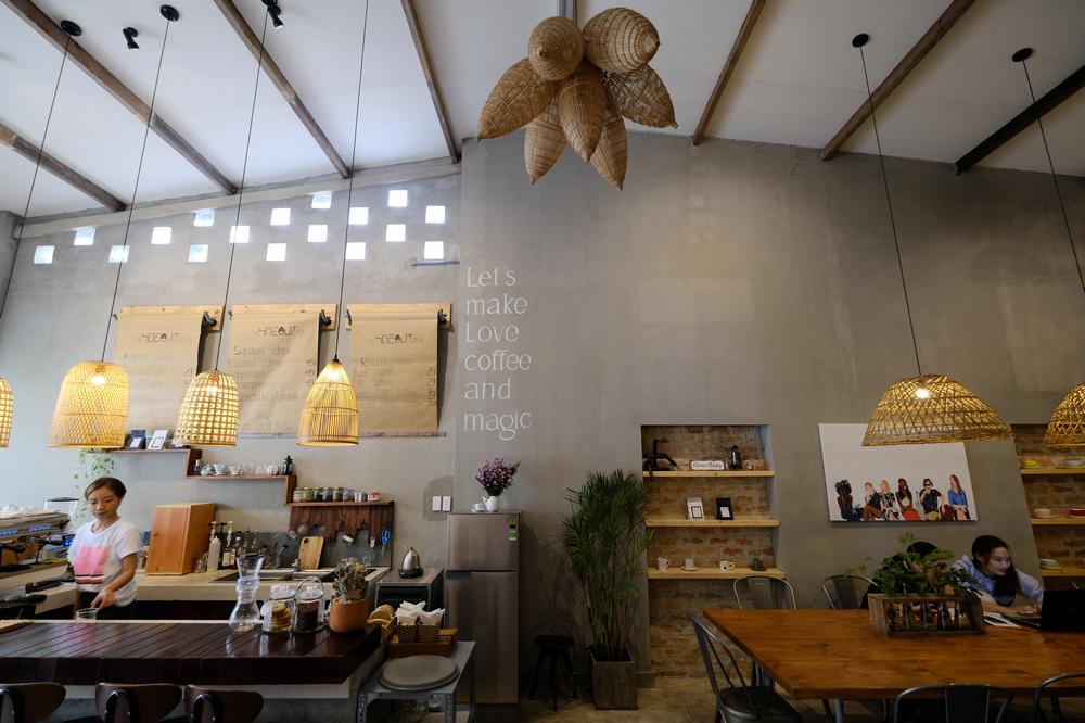 The Hideout cafe/峴港/越南/美食/越式咖啡/早午餐/咖啡館空間