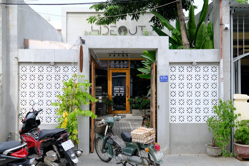 The Hideout cafe/峴港/越南/美食/越式咖啡/早午餐/老屋