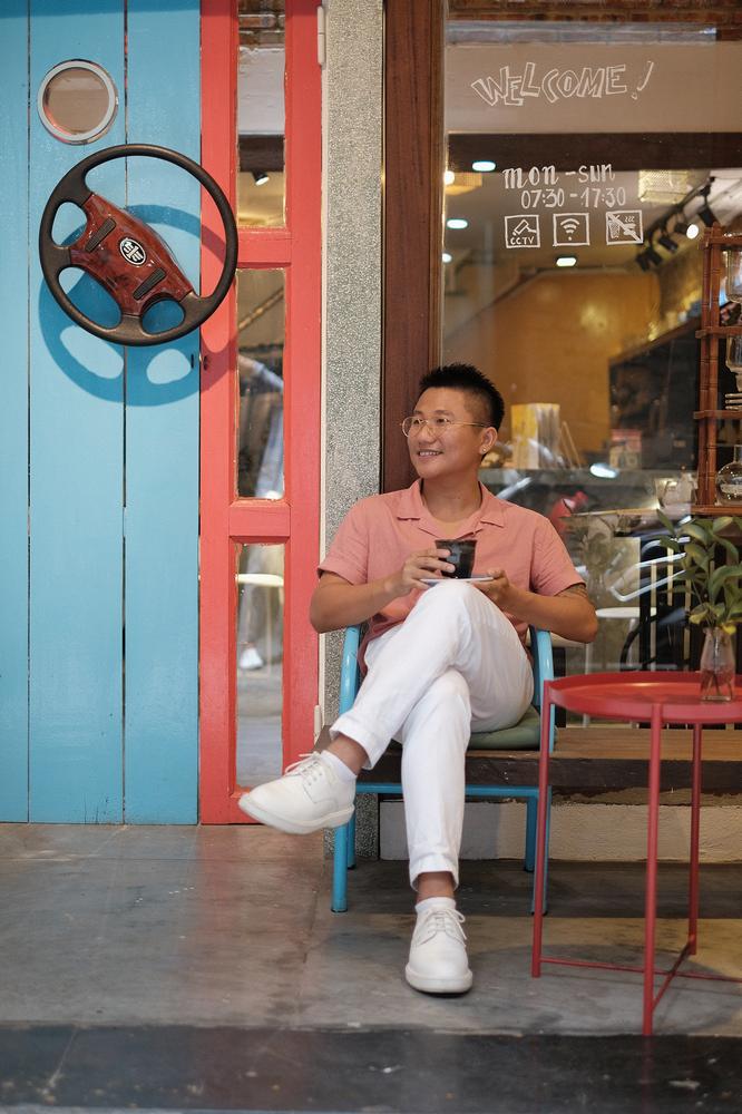 The Espresso Station/峴港/越南/美食/自家烘焙咖啡/越式咖啡/肖像