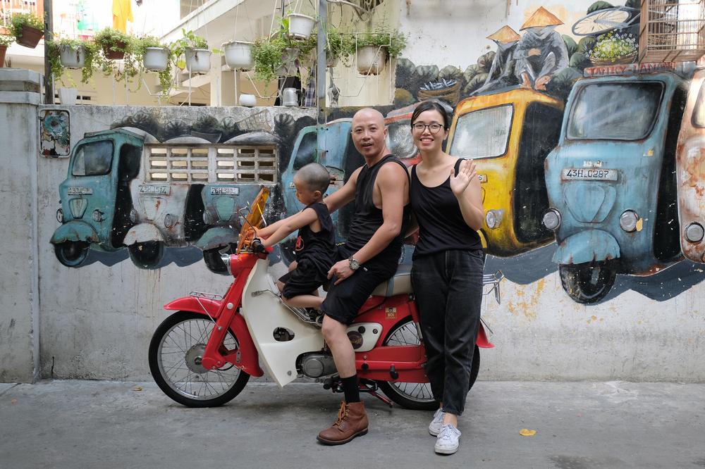 Nối Cafe /峴港/越南/美食/咖啡館/懷舊音樂/偉士牌摩托車