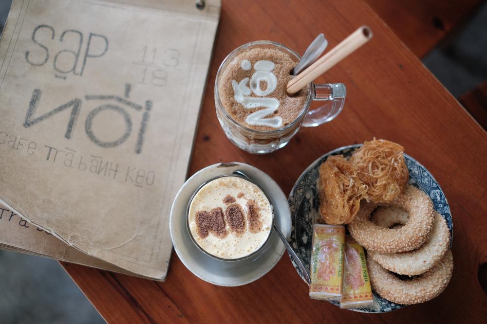 Nối Cafe /峴港/越南/美食/咖啡館/懷舊音樂/越式咖啡