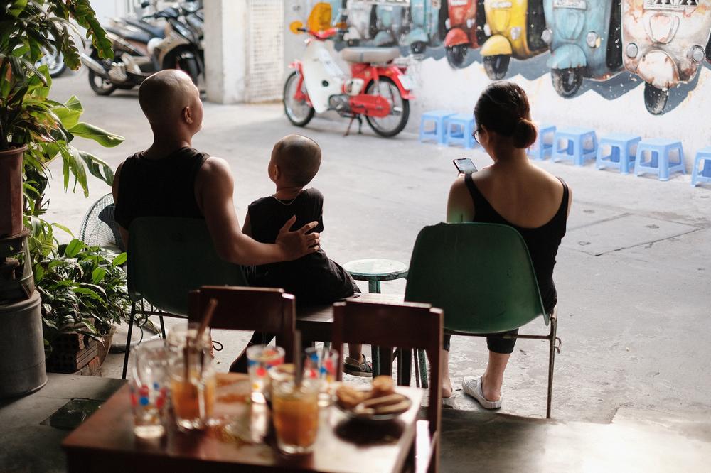 Nối Cafe /峴港/越南/美食/咖啡館/懷舊音樂/塗鴉