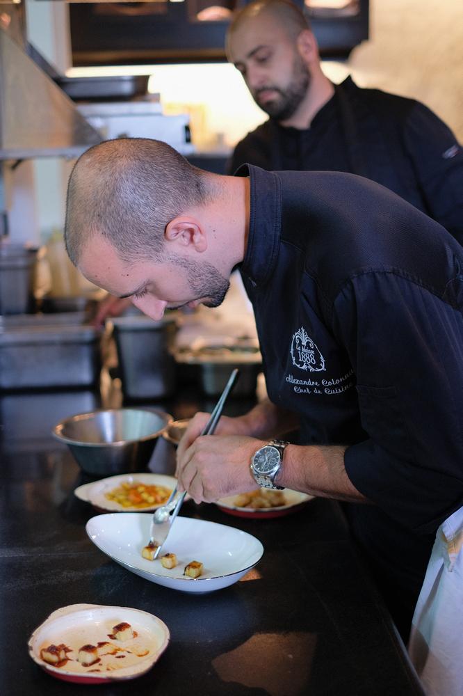 La Maison 1888/峴港/越南/美食推薦/Pierre Gagnaire/做料理