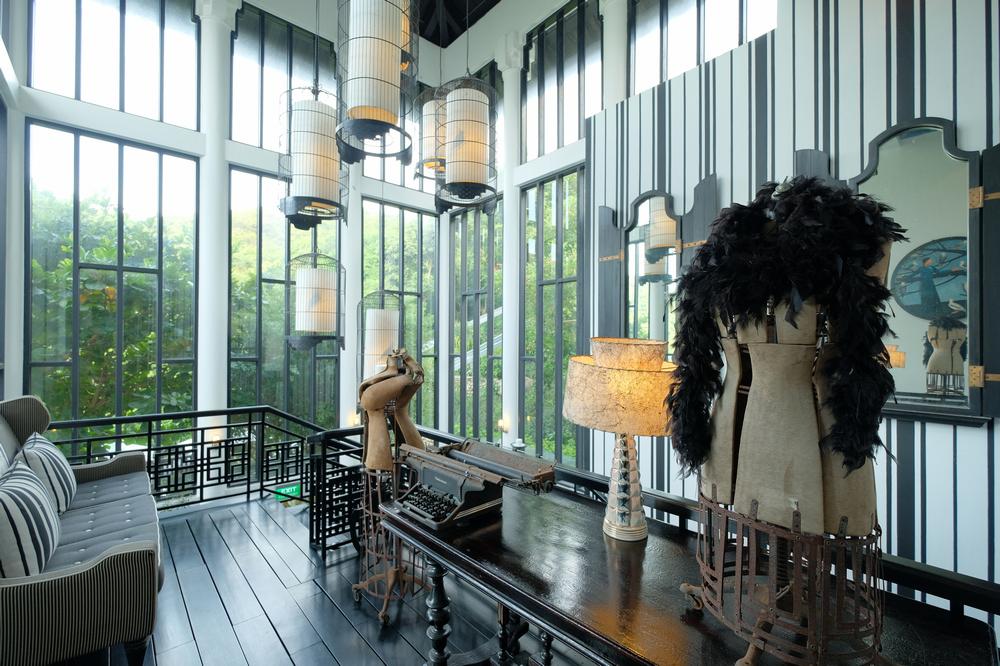 La Maison 1888/峴港/越南/美食推薦/Bill Bensley/樓梯間