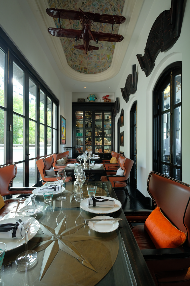 La Maison 1888/峴港/越南/美食推薦/Bill Bensley/私人用餐包廂
