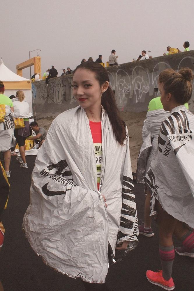 歐陽靖/台灣/馬拉松跑者/跑步教主/自信微笑