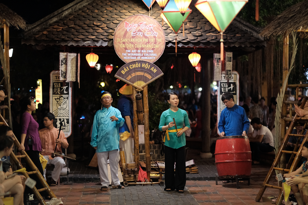 會安古城/會安/越南/旅遊/人類非物質文化遺產/發牌唱曲