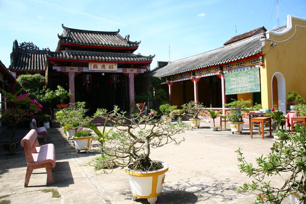 會安古城/會安/越南/旅遊/世界遺產/佛寺