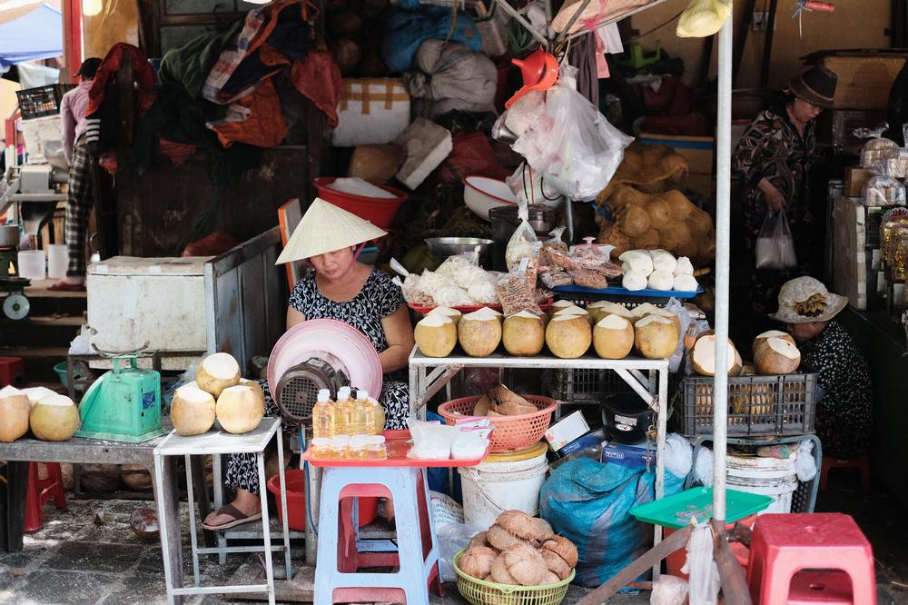 會安古城/會安/越南/旅遊/世界遺產/攤販