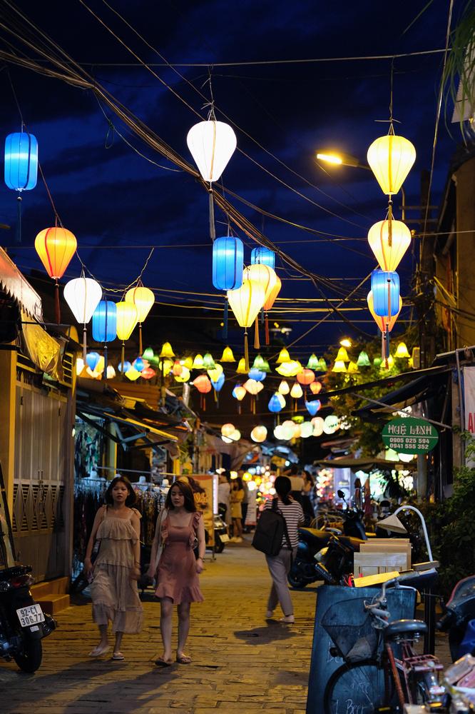 會安古城/會安/越南/旅遊/世界遺產/街道/燈籠