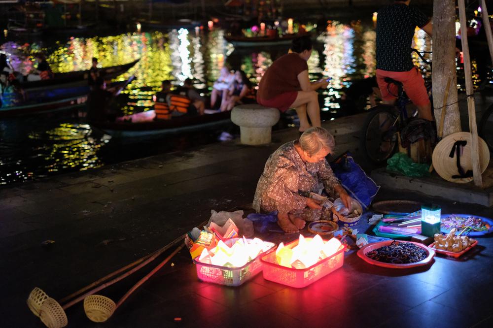 會安古城/會安/越南/旅遊/世界遺產/秋盤河/水燈