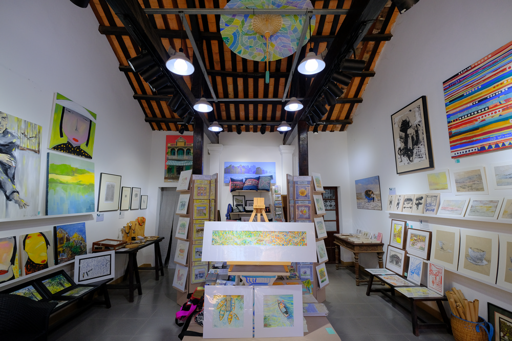 MARCH GALLERY/會安/越南/藝術作品/越南當代藝術