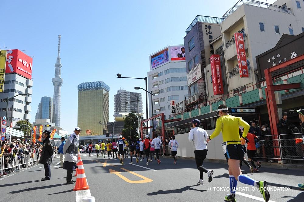 東京馬拉松/東京/日本/世界六大馬拉松/路跑
