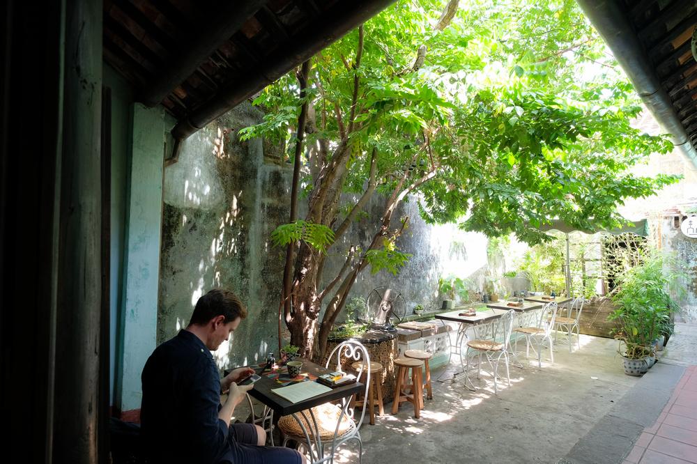 Reaching Out Teahouse/會安/越南/咖啡館/庭院