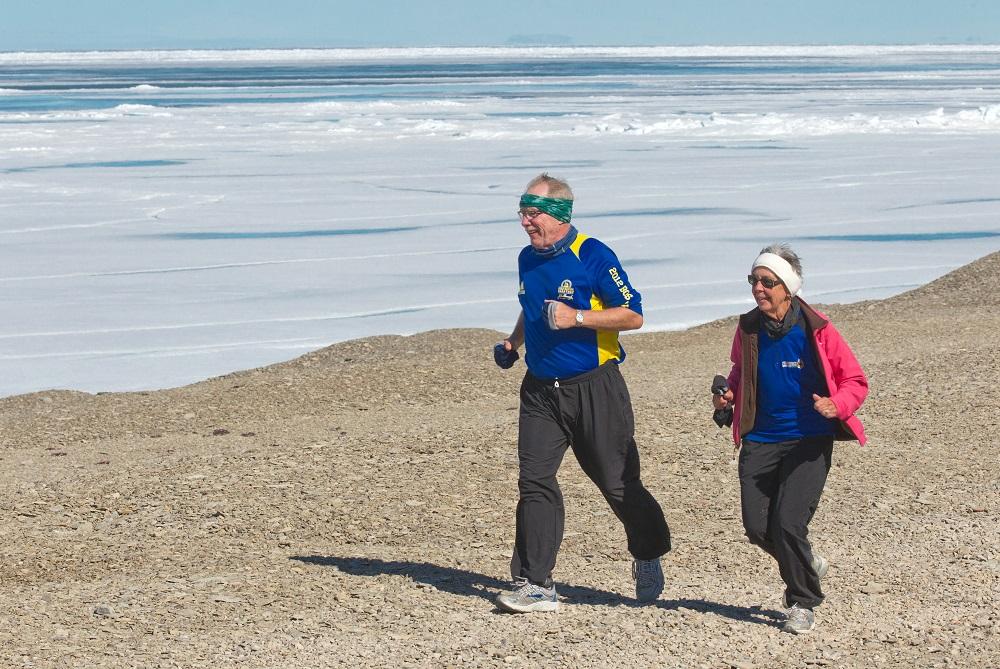 Northwest Passage Marathon/西北航道馬拉松/加拿大/極地馬拉松