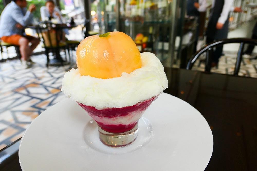 Maison de la Catégorie/韓國/首爾/清潭洞/奢華甜點/粉紅水蜜桃刨冰