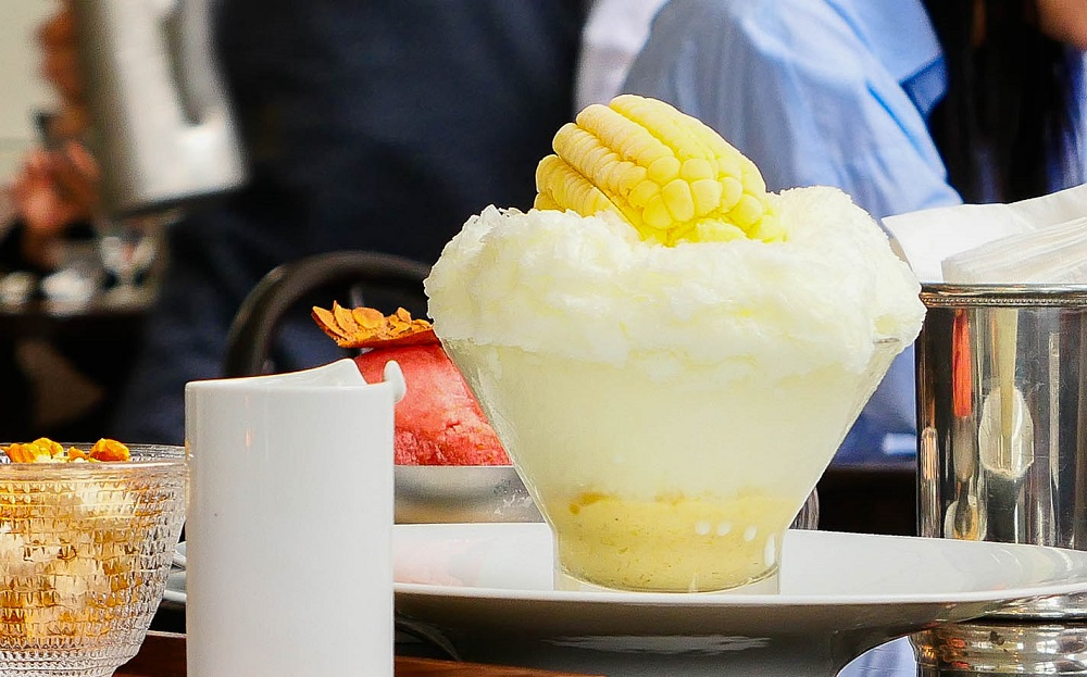 Maison de la Catégorie/韓國/首爾/甜玉米刨冰/視覺系冰品