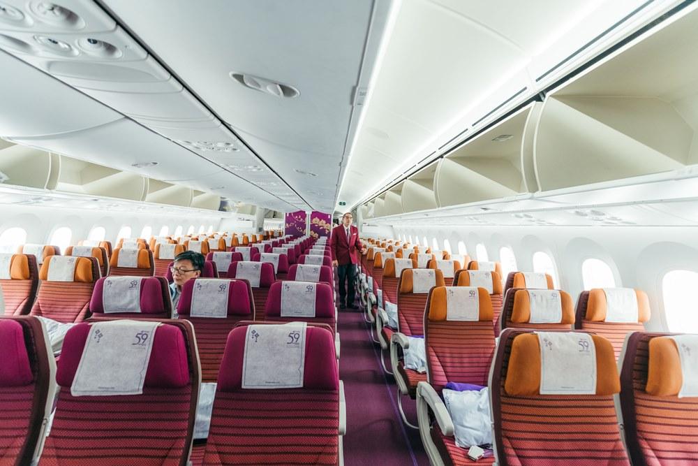 泰國航空/曼谷/泰國/深度旅遊/飛行/波音787-9