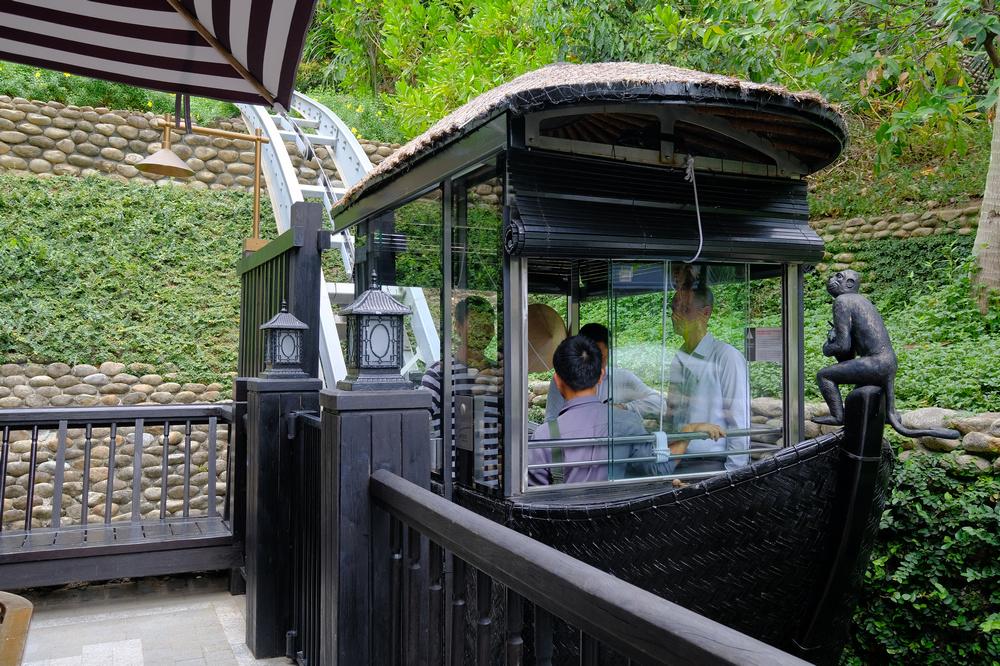 峴港洲際酒店/峴港/越南/旅遊/Nam Tram/纜車