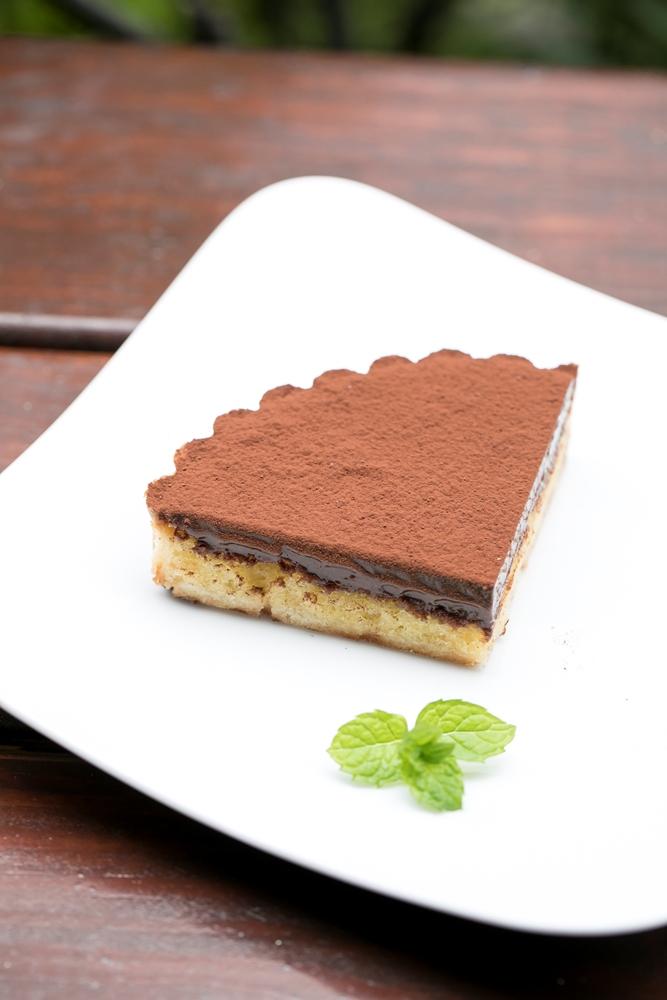 生巧克力塔/M&F深法廚房/大安區/網紅甜點店/法式甜點/人氣餐廳/台北