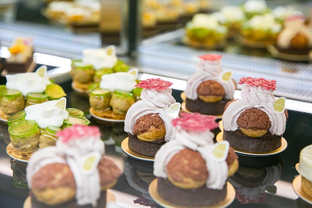 孔雀/CHANTEZ Pâtisserie/穿石/大安區/法式甜點/聖多諾黑/台北