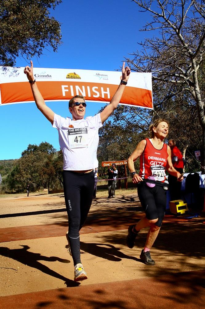 南非Big Five馬拉松/終點線/非洲野生動物/富比士雜誌/十大最值得跑旅的賽事