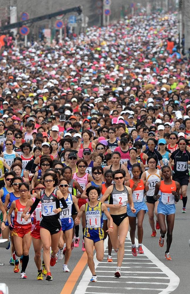 名古屋女子馬拉松/日本/Tiffany項鍊/完跑禮/女性限定/全球最大