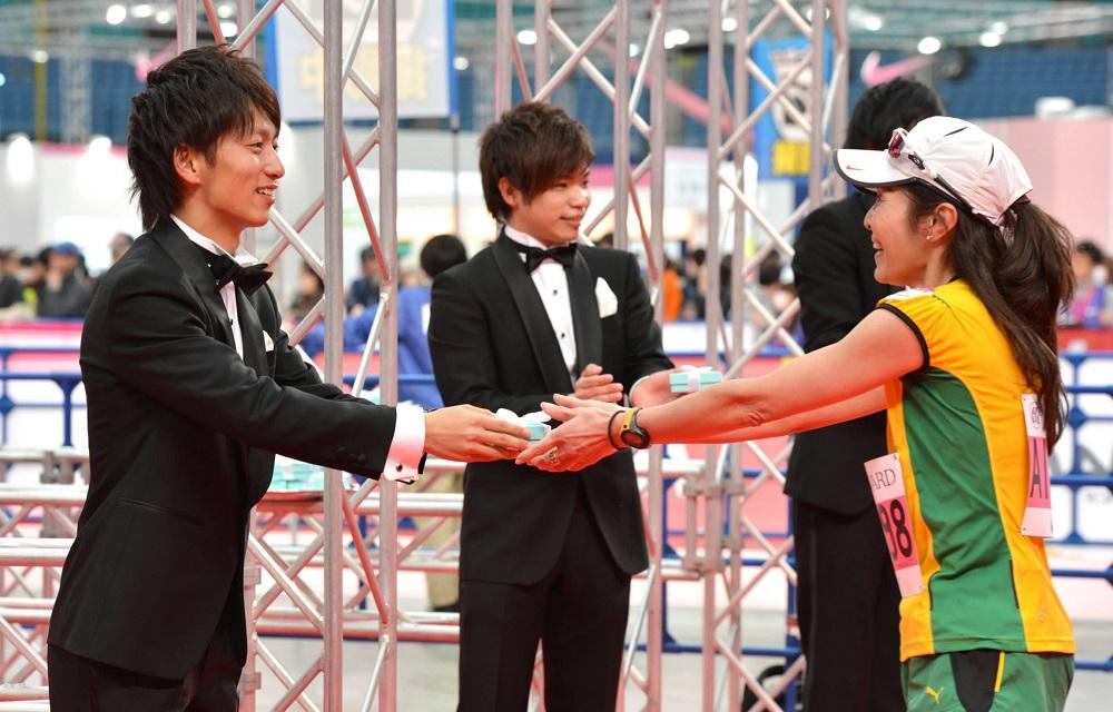 名古屋女子馬拉松/日本/Tiffany項鍊/完跑禮/女性限定/燕尾服型男