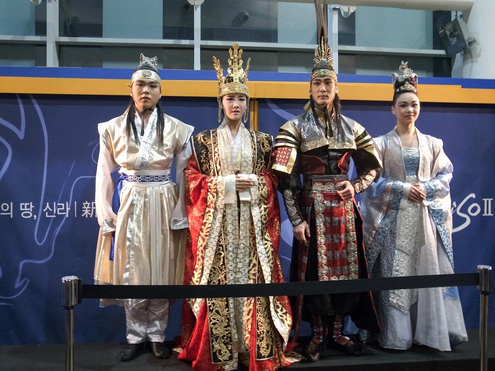 慶州/韓國/新羅古都/慶州貞洞劇場/韓式古裝/善德女王