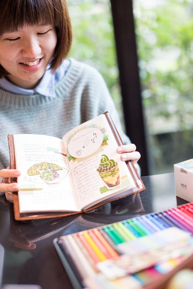 南國孩子Susan/台南/台灣/插畫家/手帳記錄/抹茶冰淇淋