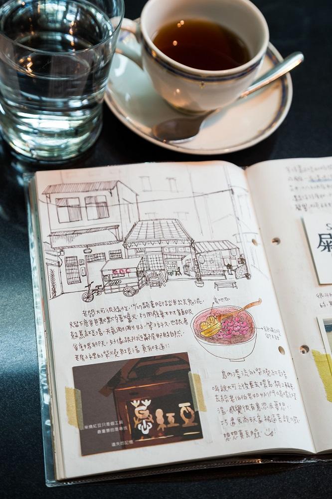 南國孩子Susan/台南/台灣/插畫家/手帳記錄/萬紅豆/台南美食