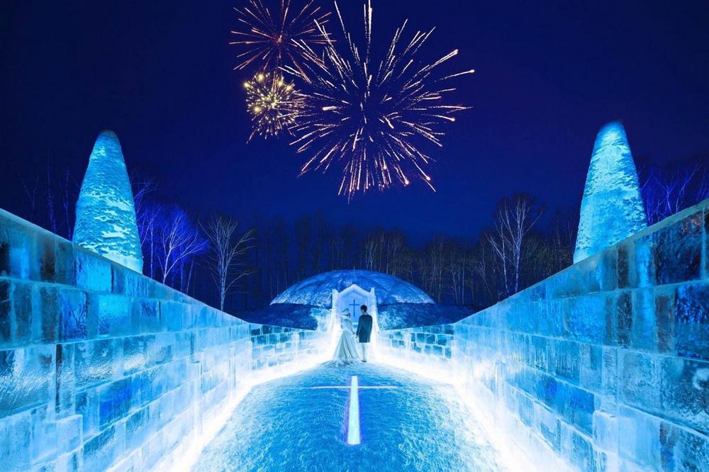 冰村/北海道/日本/旅遊/RISONARE TOMAMU/滑雪/打卡/冰之教堂