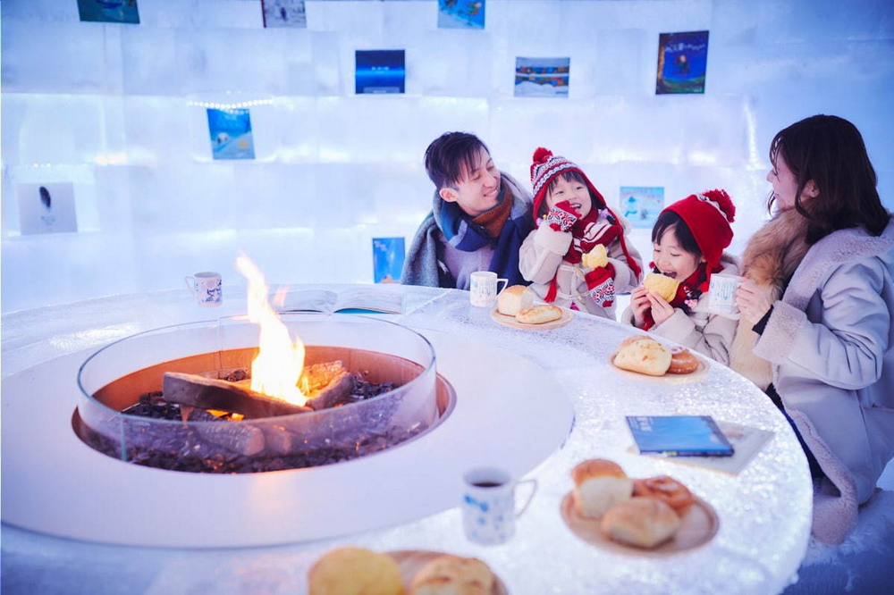 冰村/北海道/日本/旅遊/RISONARE TOMAMU/滑雪/打卡/冰之咖啡館
