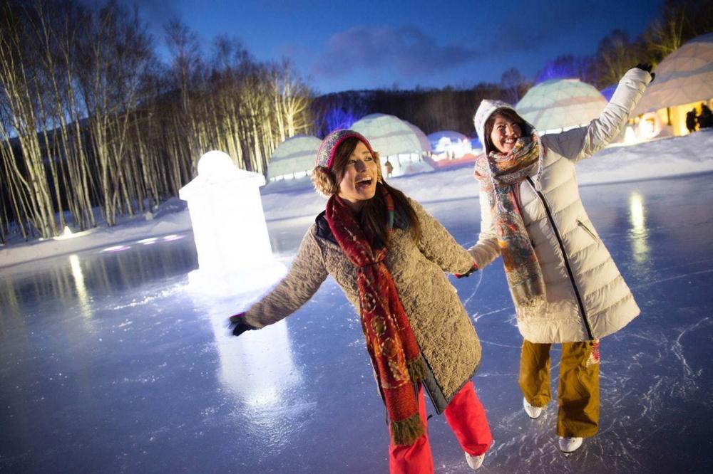 冰村/北海道/日本/旅遊/RISONARE TOMAMU/滑雪/打卡/滑冰場