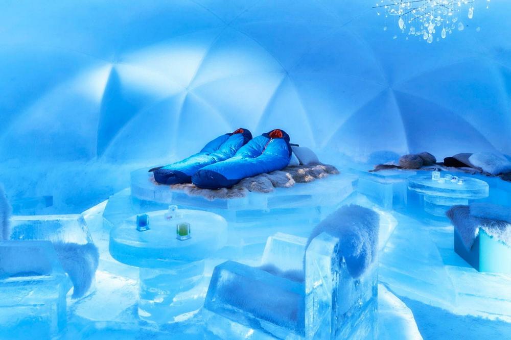 冰村/北海道/日本/旅遊/RISONARE TOMAMU/滑雪/打卡/冰之旅館