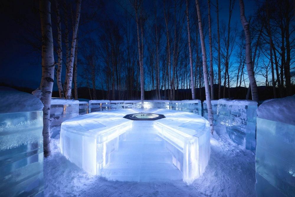 冰村/北海道/日本/旅遊/RISONARE TOMAMU/滑雪/打卡/冰之露天風呂