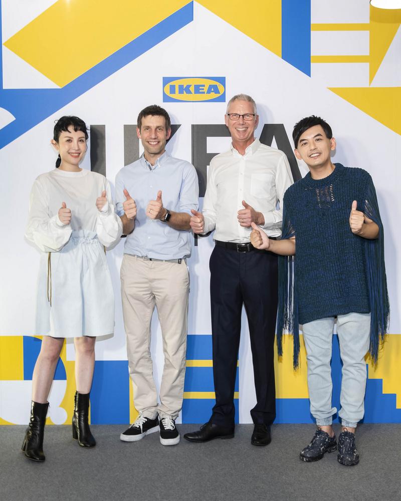 IKEA pop-up hotel/台北/宜家/IKEA/快閃旅宿/黃子佼/魏如萱