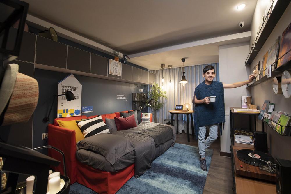 IKEA pop-up hotel/台北/宜家/IKEA/快閃旅宿/黃子佼/風格男