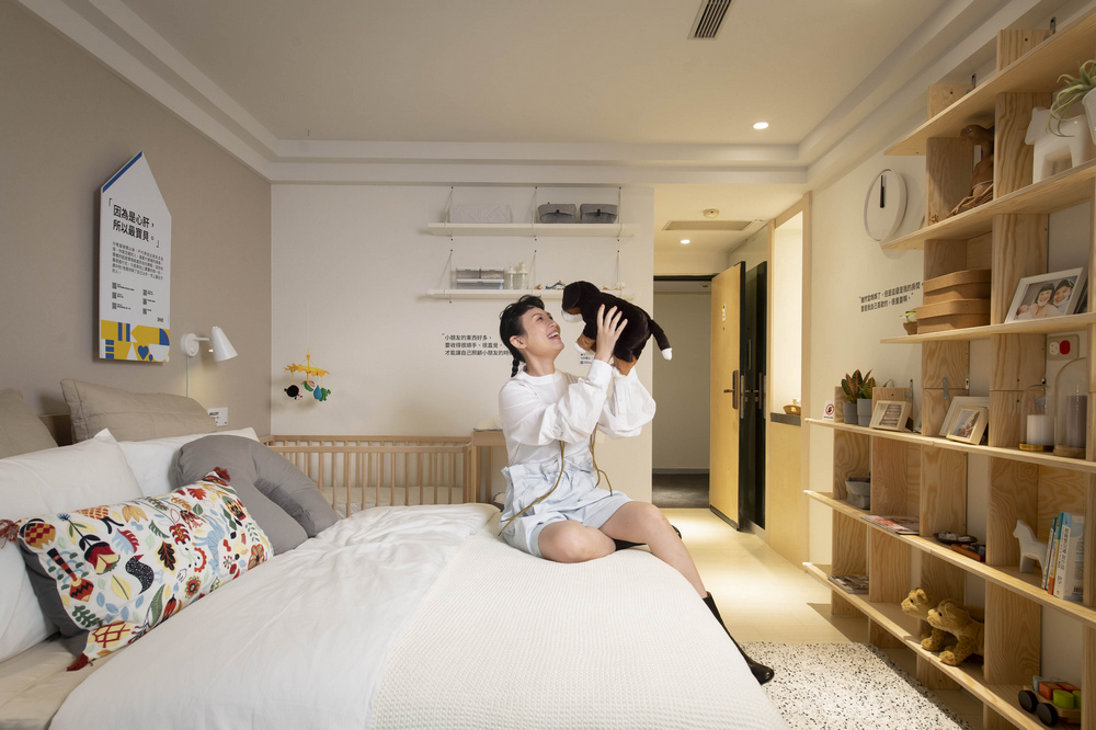 IKEA pop-up hotel/台北/宜家/IKEA/快閃旅宿/魏如萱/新手爸媽