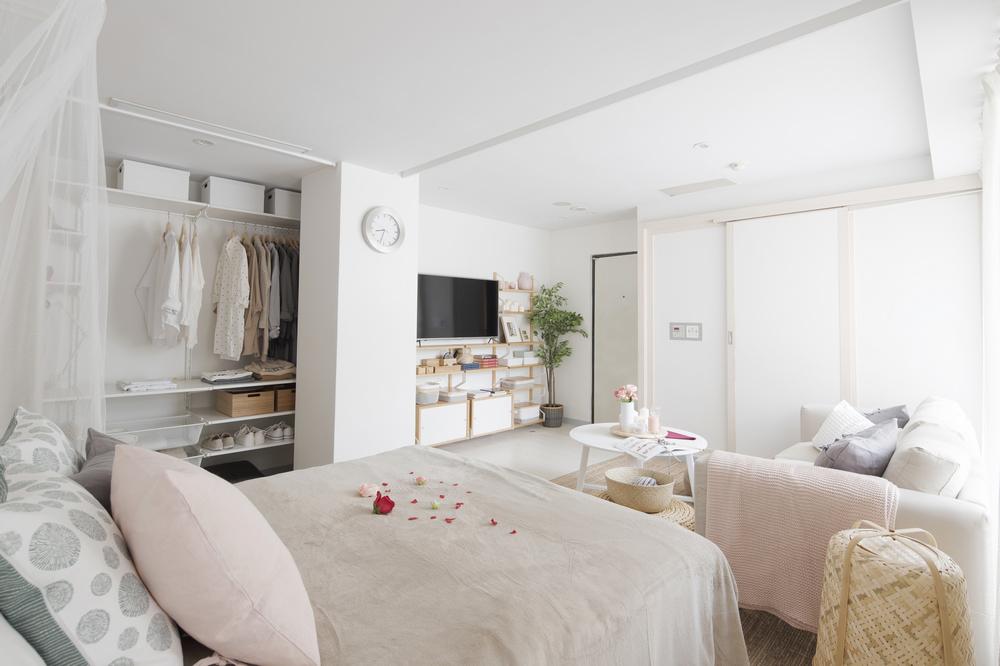 IKEA pop-up hotel/台北/宜家/IKEA/快閃旅宿/新婚夫妻