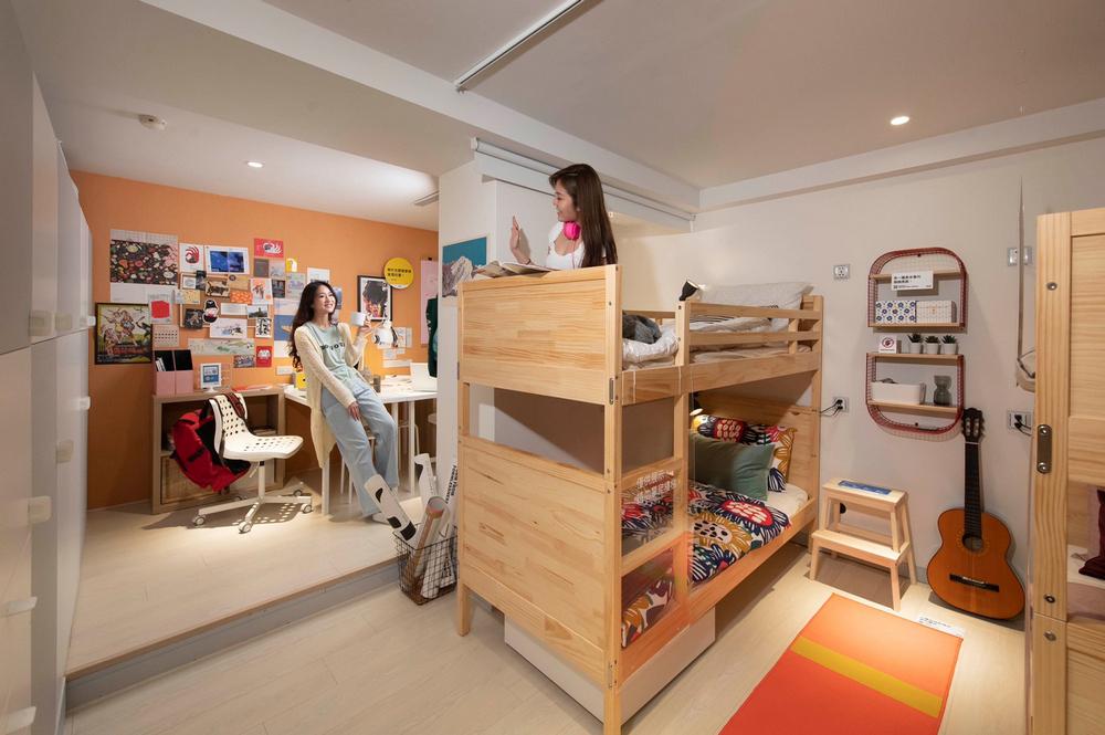 IKEA pop-up hotel/台北/宜家/IKEA/快閃旅宿/新鮮人