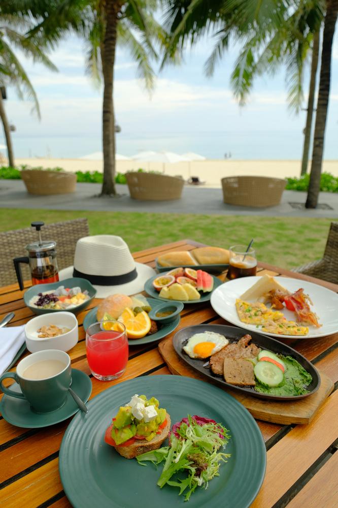 Naman Retreat/峴港/越南/旅遊/全球奢華精品酒店/單點式早餐
