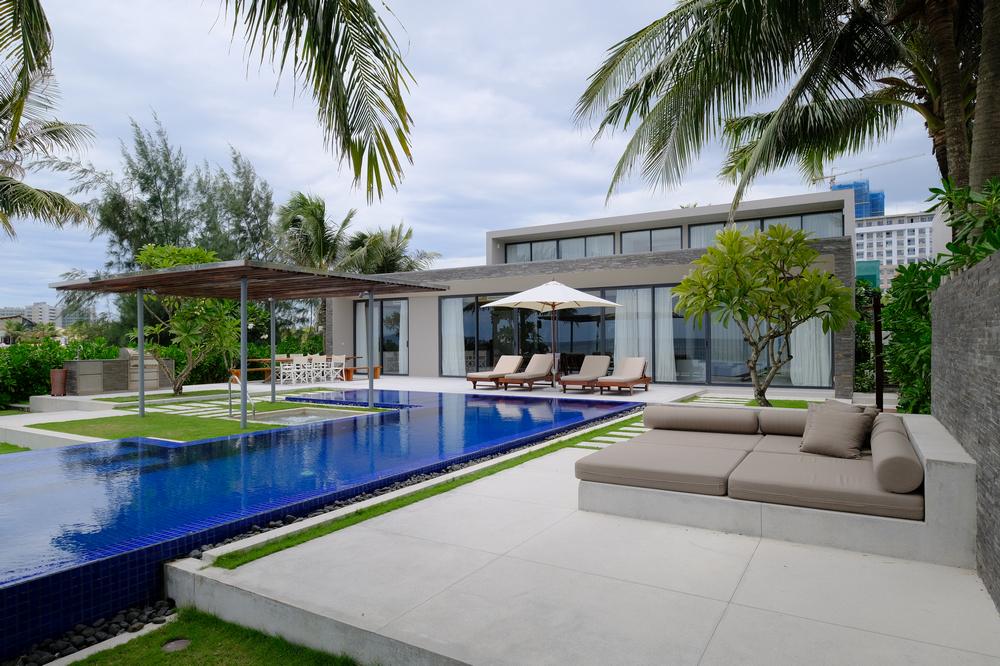 Naman Retreat/峴港/越南/旅遊/全球奢華精品酒店/海灘泳池別墅