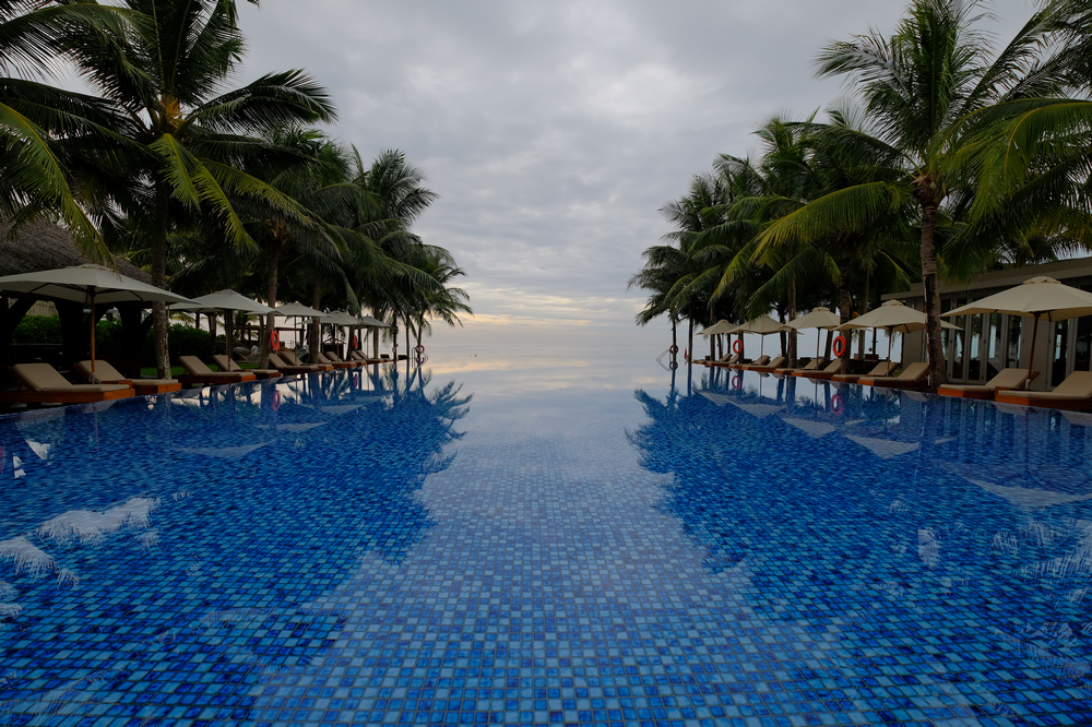 Naman Retreat/峴港/越南/旅遊/全球奢華精品酒店/無邊際泳池