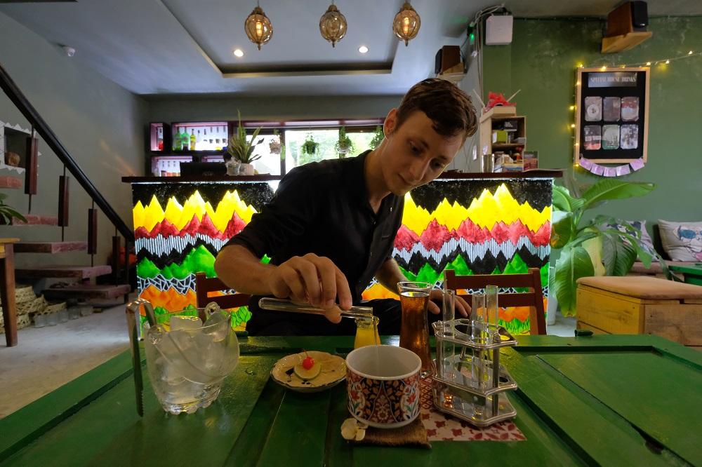越南/峴港/Éclat - Creative Café & Bar/越式咖啡/馬丁尼/魚露/實驗