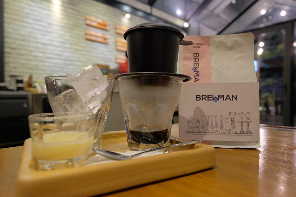 越南/峴港/Brewman Coffee Concept/玻璃屋咖啡館/冰煉乳咖啡