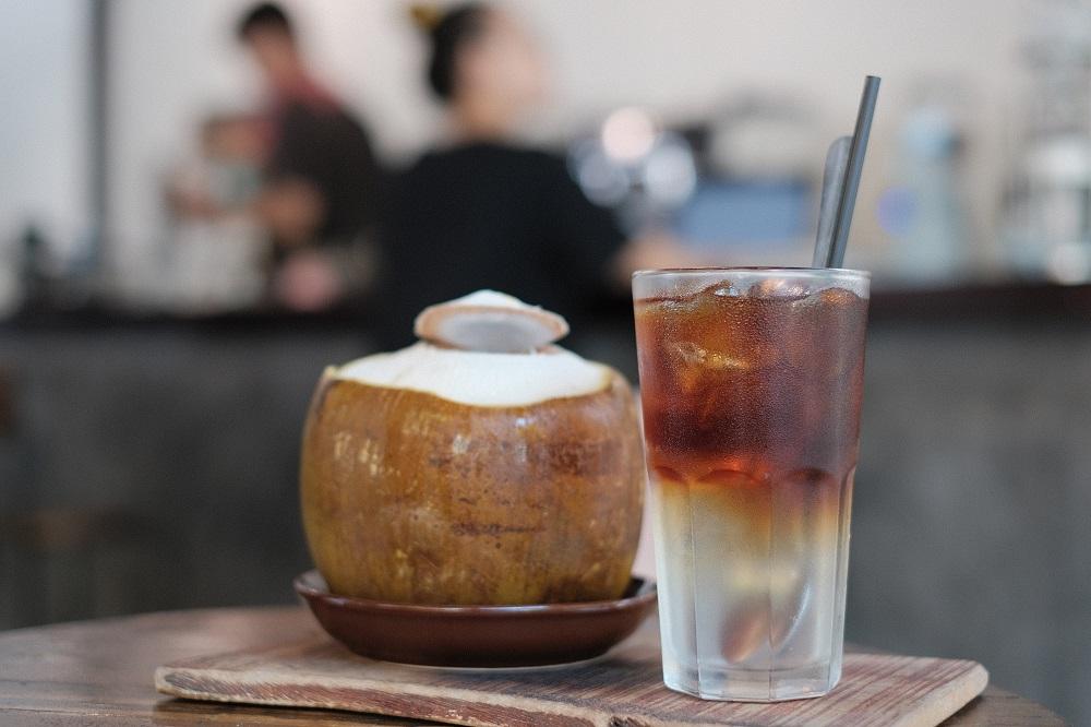 越南/峴港/Why Coffee Roastery/椰子咖啡/Coconut Mocha