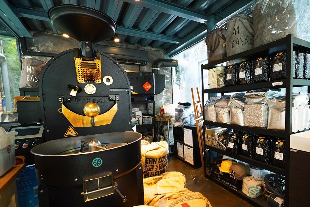 大和頓物所/德興碾米廠/屏東/甜點/德國的PROBAT烘豆機